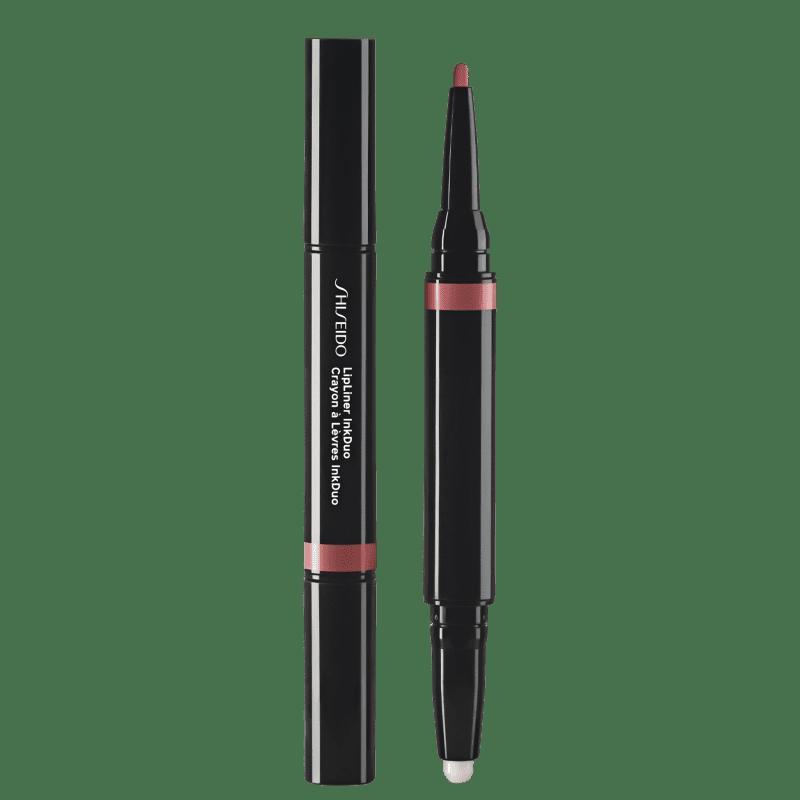 Shiseido Lipliner InkDuo Primer 03 Mauve - Lápis de Boca 0,9g