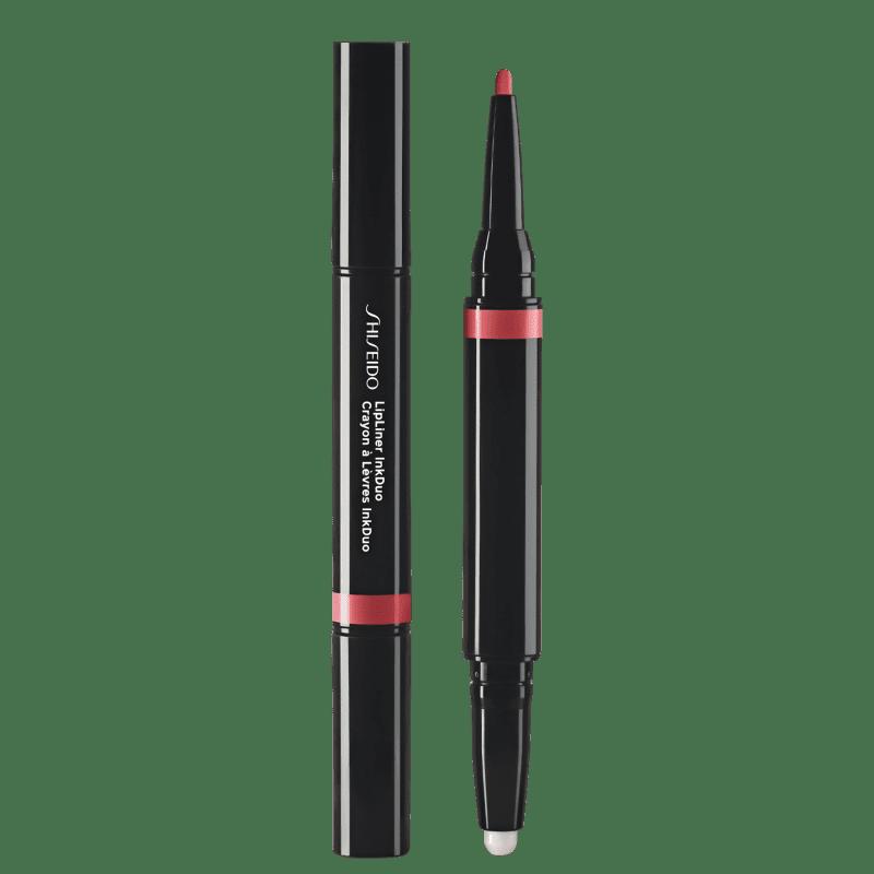 Shiseido Lipliner InkDuo Primer 04 Rosewood - Lápis de Boca 0,9g