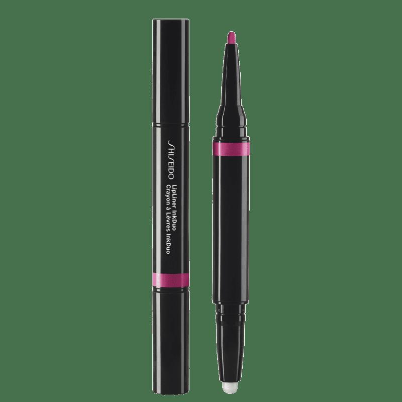 Shiseido Lipliner InkDuo Primer 10 Violet - Lápis de Boca 0,9g