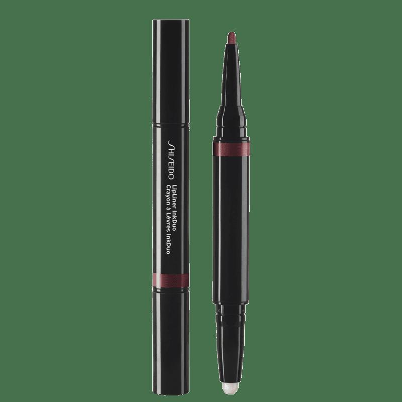 Shiseido Lipliner InkDuo Primer 11 Plum - Lápis de Boca 0,9g