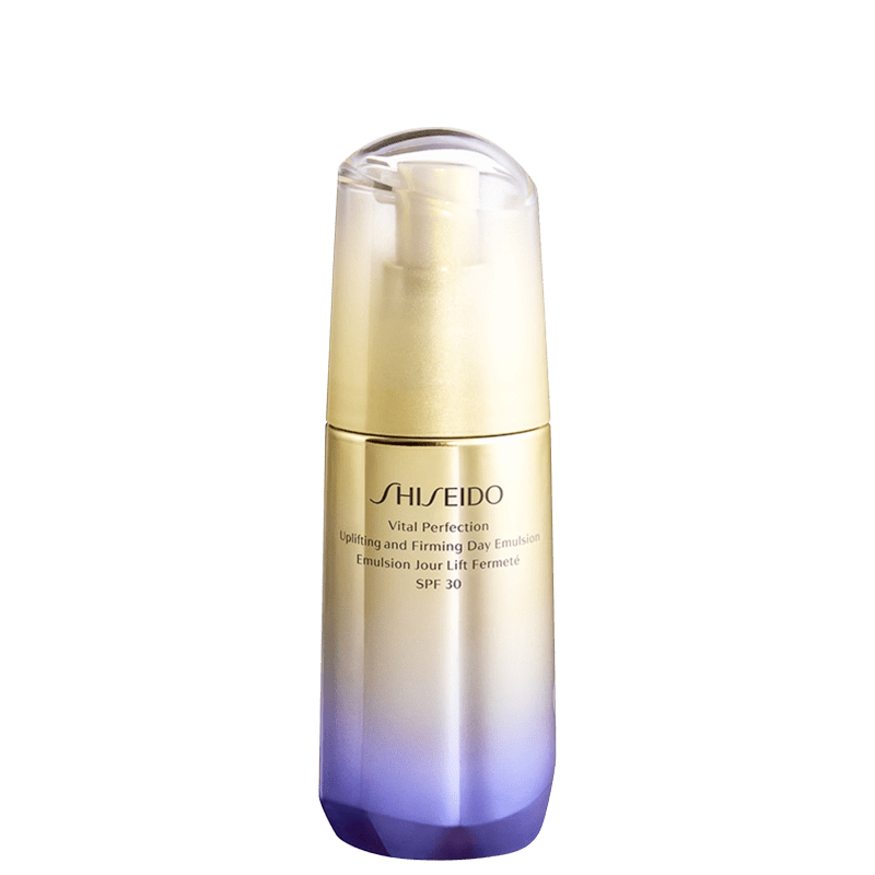 Emulsão Anti-idade Shiseido Vital Perfection Uplifting and Firming Day Emulsion FPS 30 Hidratante 75ml