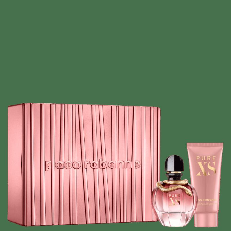 Conjunto Pure XS For Her Paco Rabanne Feminino - Eau de Parfum 80ml + Loção Corporal 100ml