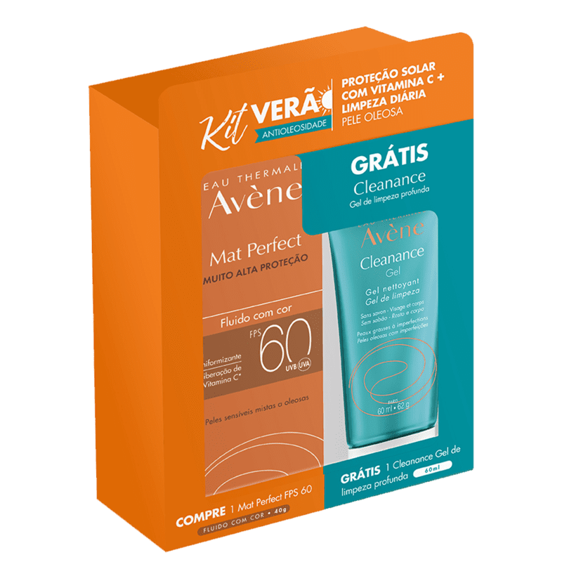 Kit Avène Mat Perfect Cleanance (2 Produtos)
