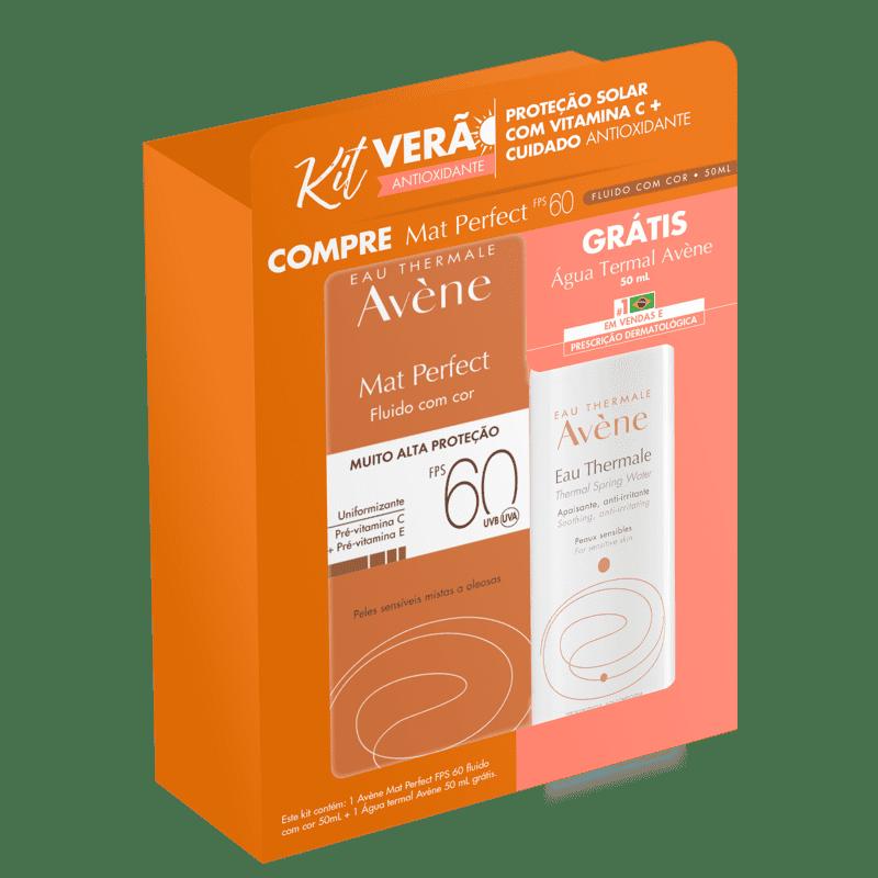Kit  Avène Mat Perfect Thermale (2 Produtos)