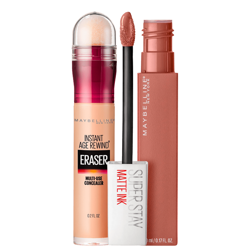 Kit Maybelline Eraser Dark Circles Superstay Matte Seductress Duo