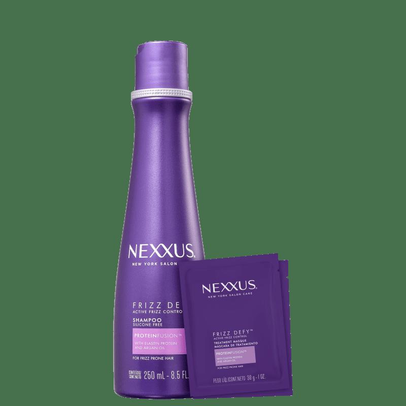 Kit Tratamento Nexxus Frizz Defy (Shampoo + Máscara)