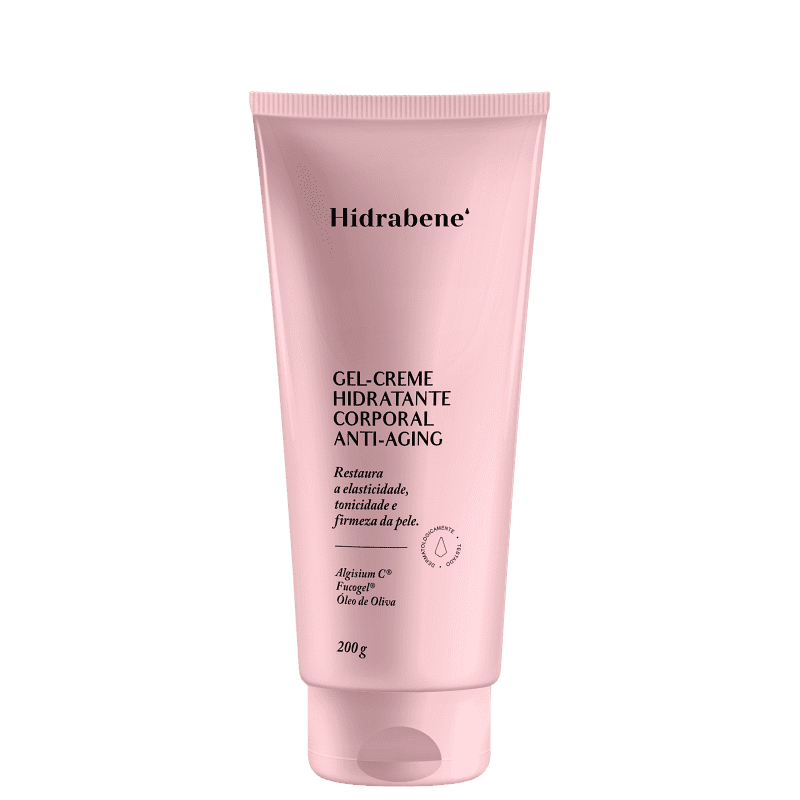 Hidrabene Gel-Creme Anti-Aging - Hidratante Corporal 200g