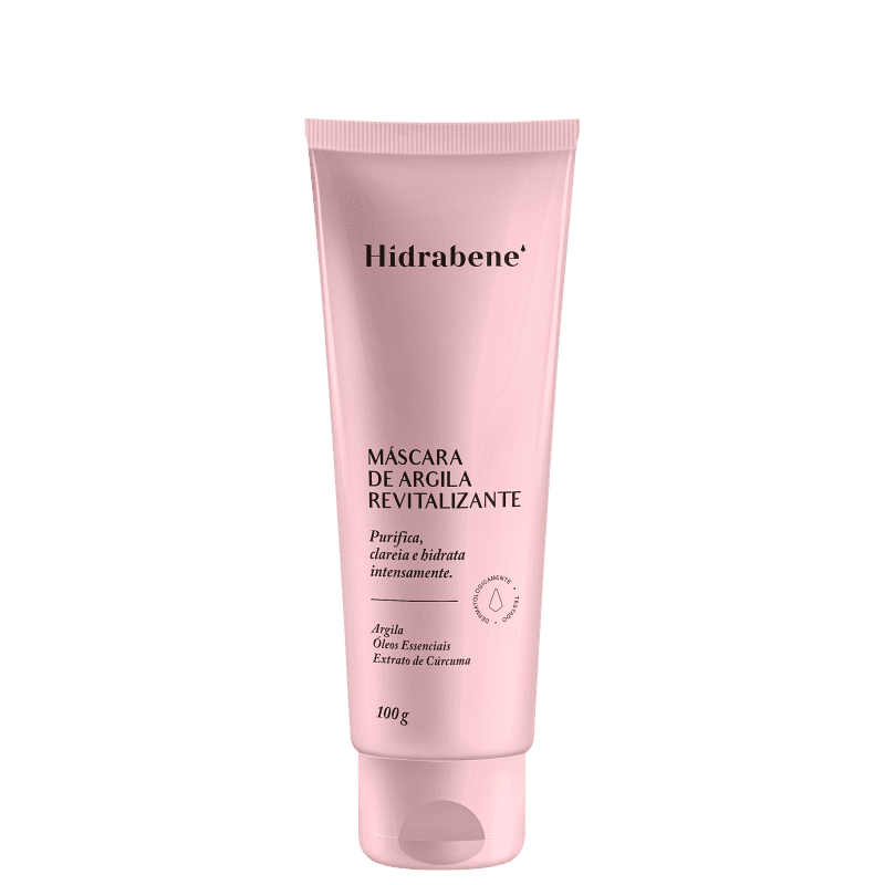 Hidrabene Argila Revitalizante - Máscara Facial 100g