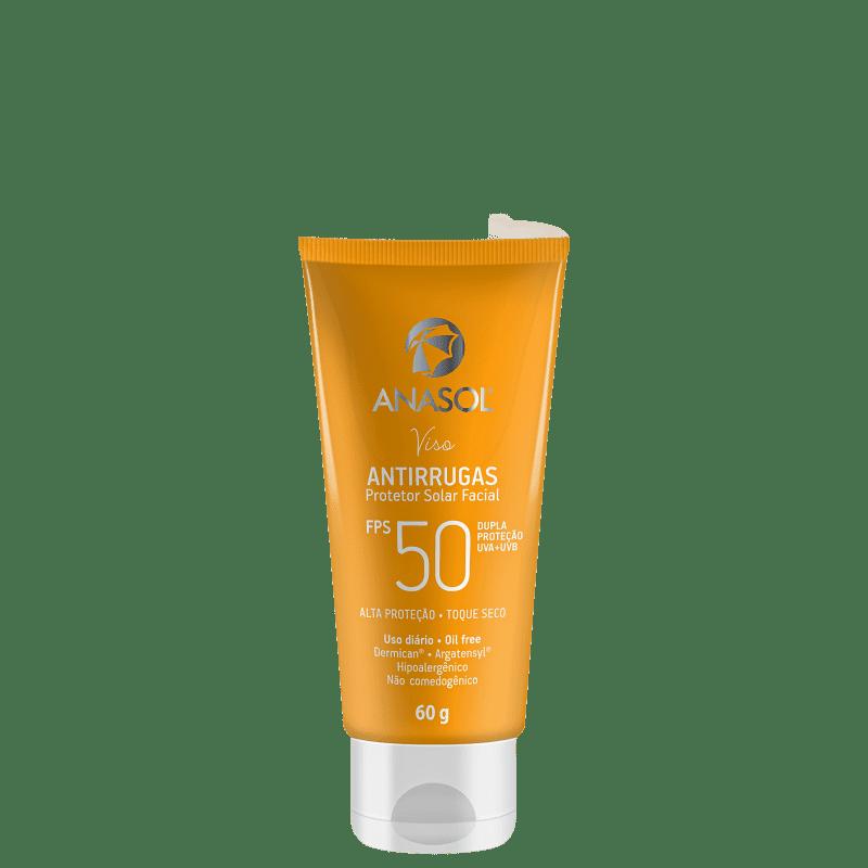 Anasol Viso Antirrugas FPS50 - Protetor Solar Facial 60g