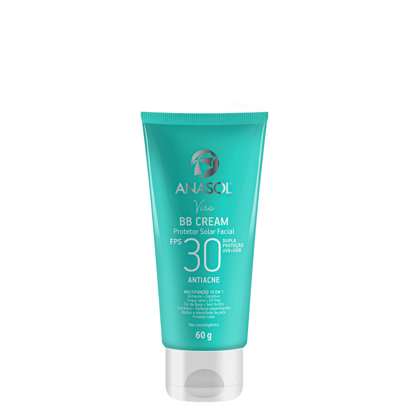 Anasol Viso Antiacne FPS30 - BB Cream 60g