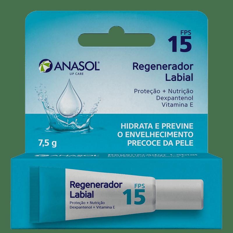 Hidratante Labial Anasol Regenerador FPS15 10g