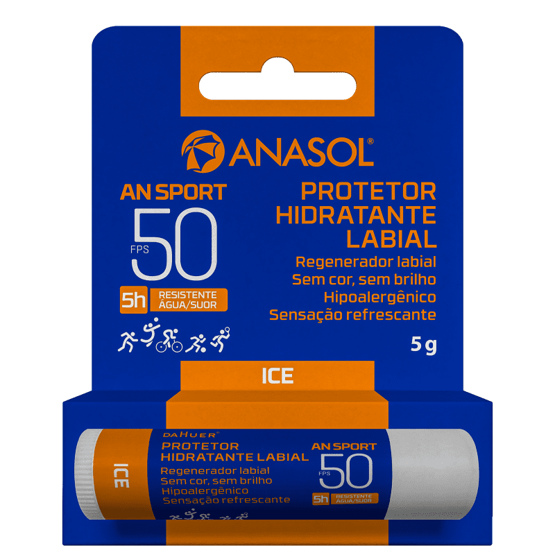 Anasol An Sport FPS15 - Protetor Labial 5g