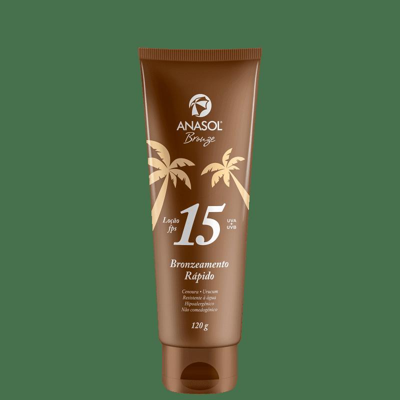 Anasol Bronze FPS 15 - Loção Bronzeadora 125ml