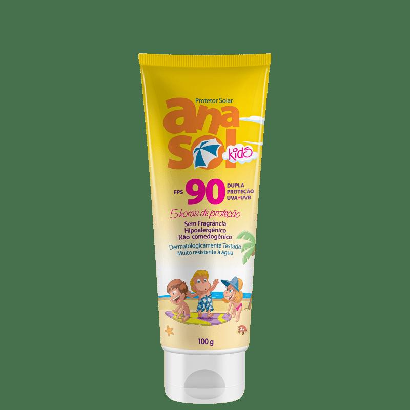 Anasol Kids FPS 90 - Protetor Solar Infantil 100g
