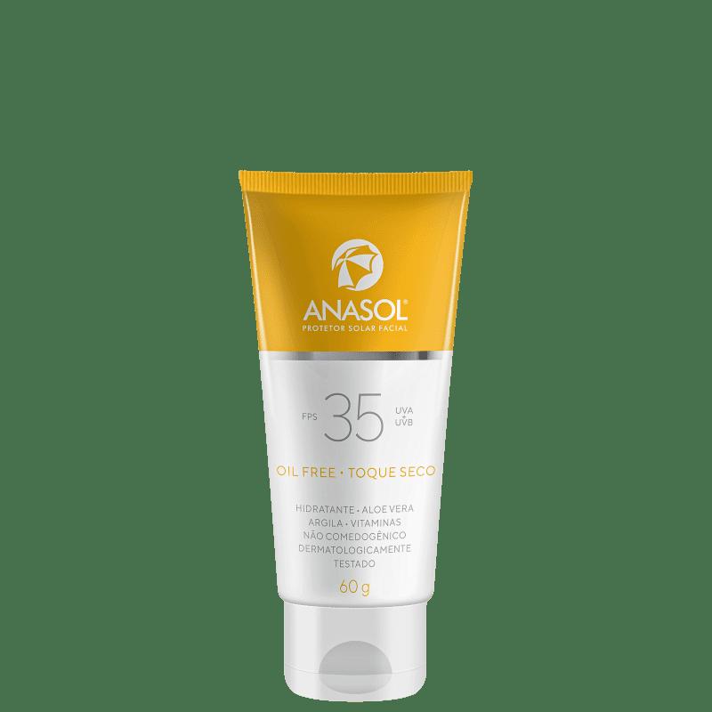 Protetor Solar Anasol FPS 35 Facial 60g