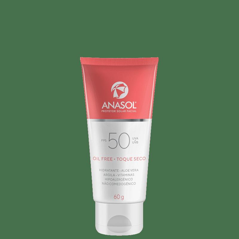 Protetor Solar Anasol FPS 50 Facial 60g
