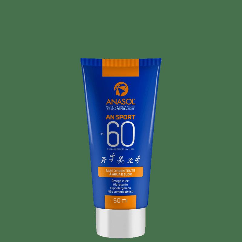 Anasol AN Sport FPS 60 - Protetor Solar Facial 60ml