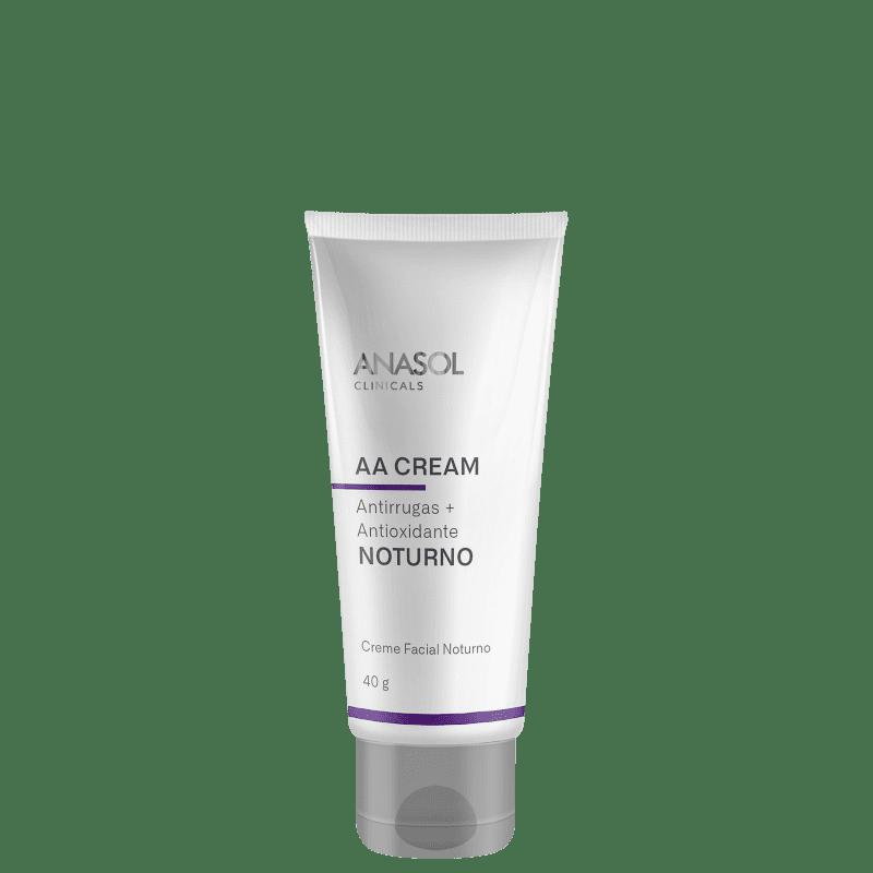Anasol Clinicals AA Cream Noturno - Creme Anti-Idade 40g