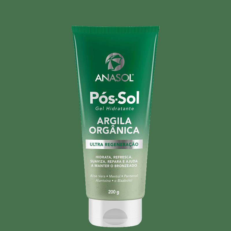 Anasol Argila Orgânica - Gel Hidratante Pós-Sol 200g