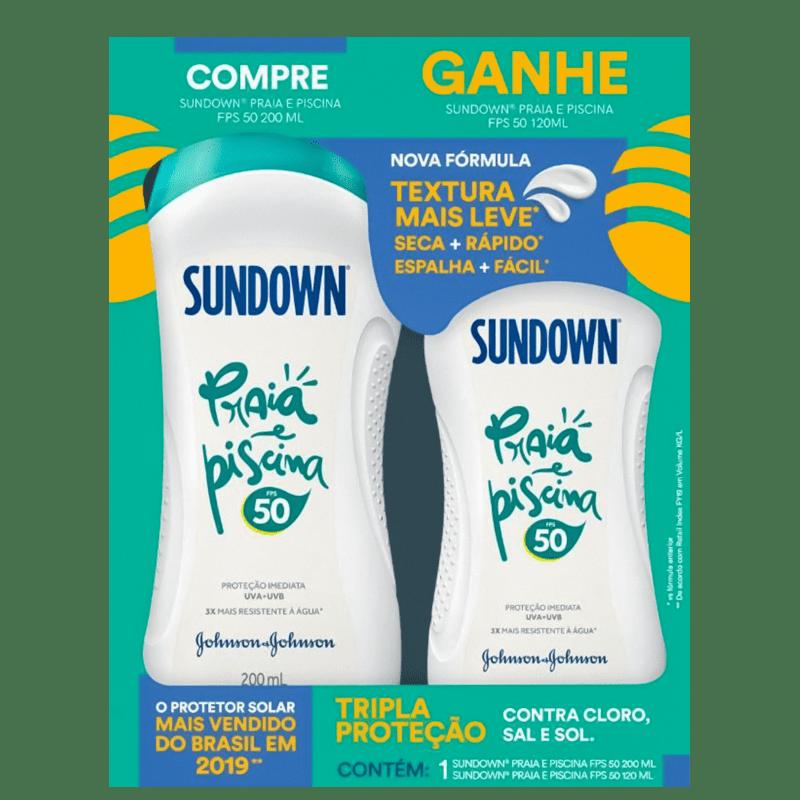 Kit Sundown Praia e Piscina FPS 50 (2 Produtos)