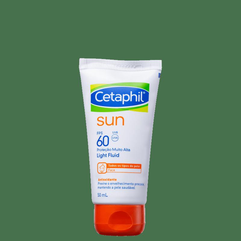 Protetor Solar Facial Cetaphil Sun Antioxidante Light Fluid FPS60 50ml