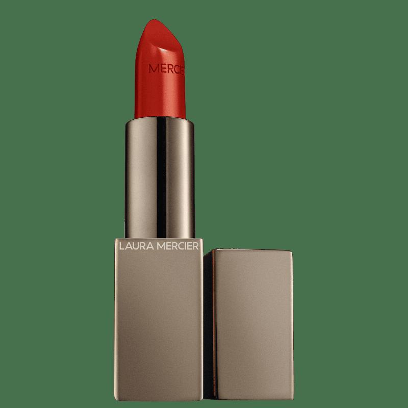 Rouge Essentiel Silky Crème Lipstick Rouge Électrique - Batom 3,5g