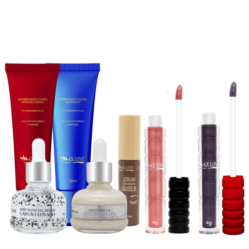 Max Love Kit Skincare + Lábios (7 produtos)