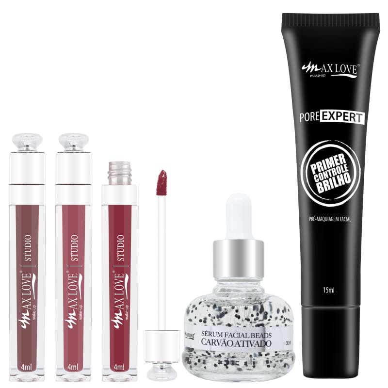 Max Love Kit Detox + Lábios (5 produtos)