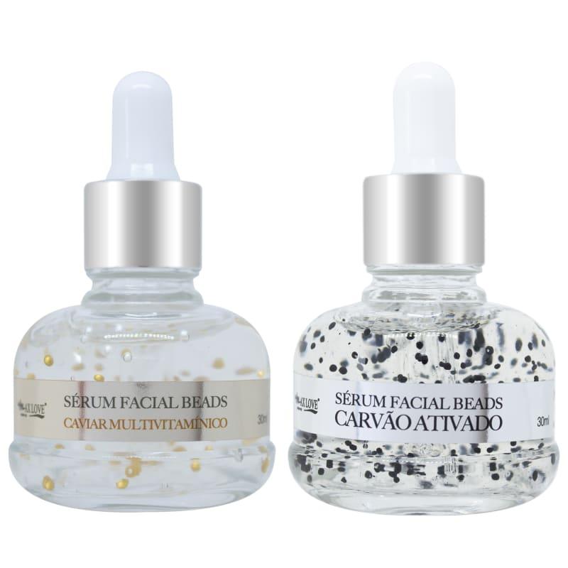 Max Love Kit Facial Renovação e Nutrição (2 produtos)
