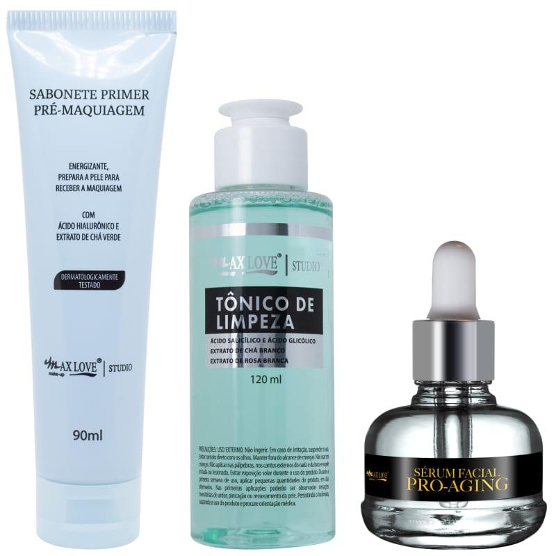 Max Love Kit Facial Antienvelhecimento (3 produtos)