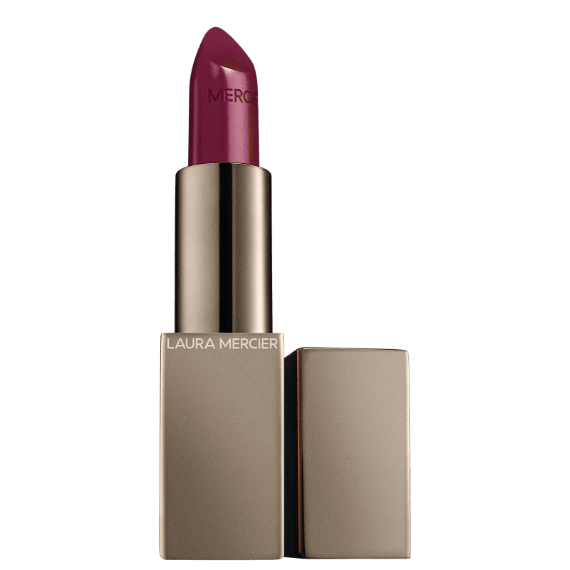 Laura Mercier Rouge Essentiel Silky Crème Lipstick Rose Rouge - Batom 3,5g
