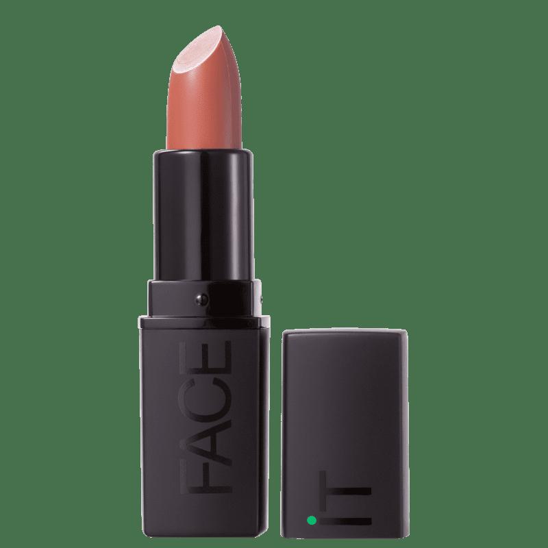 Batom Matte FACE IT Vegan Beauty Addicted Coral 4g