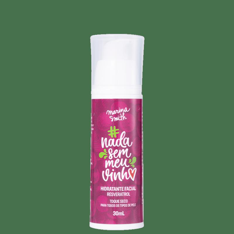 Marina Smith #NadaSemMeuVinho Resveratrol - Hidratante Facial 30ml