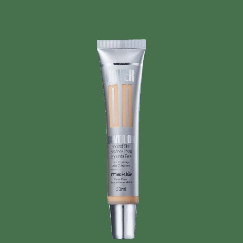 Makiê Cover On Second Skin Fair - Base Líquida 30ml
