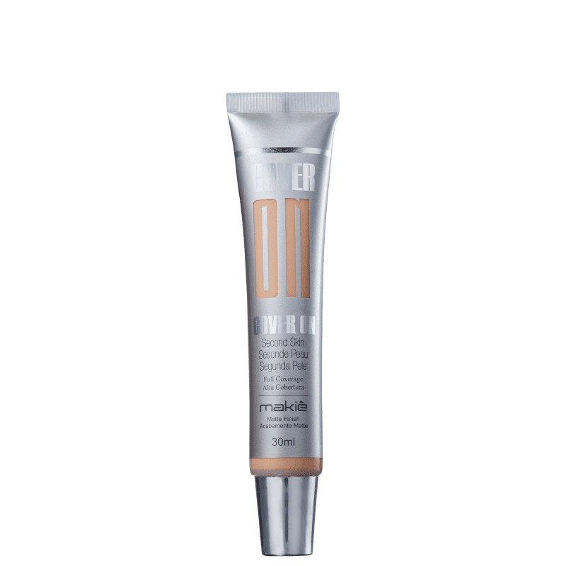 Makiê Cover On Second Skin Nude - Base Líquida 30ml