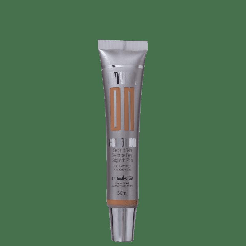 Makiê Cover On Second Skin Truffle - Base Líquida 30ml