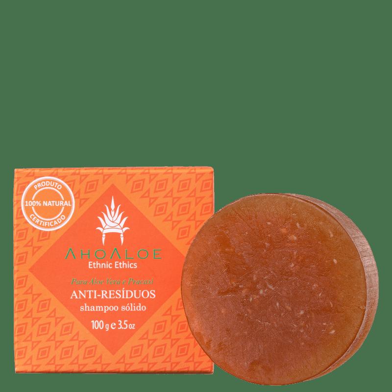 Shampoo Sólido Ahoaloe Antirresíduos 100g