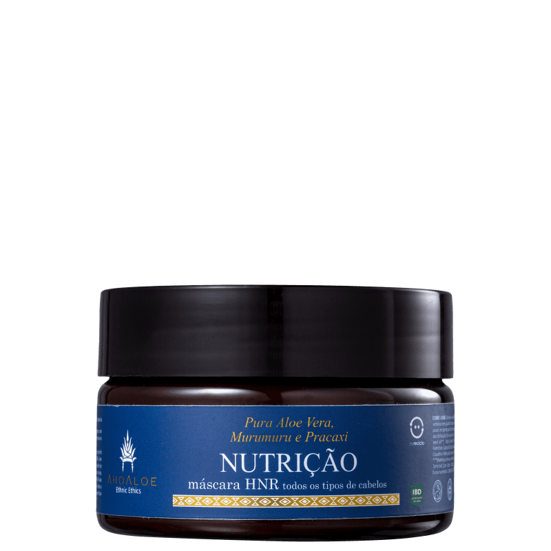 Ahoaloe HNR Nutrição - Máscara Capilar 250g