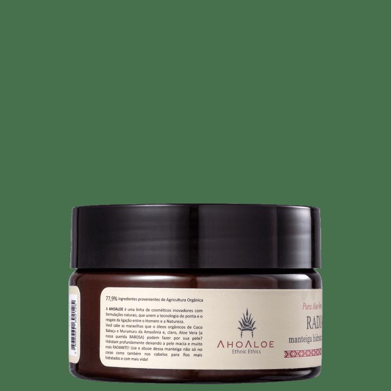 Manteiga Ahoaloe Radiante Hidratante Corporal 250ml