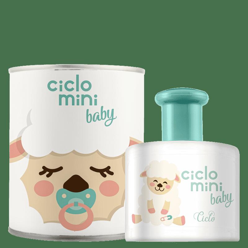 Perfume Beé Ciclo Mini Baby Ciclo Cosméticos Infantil Água de Colônia 100ml