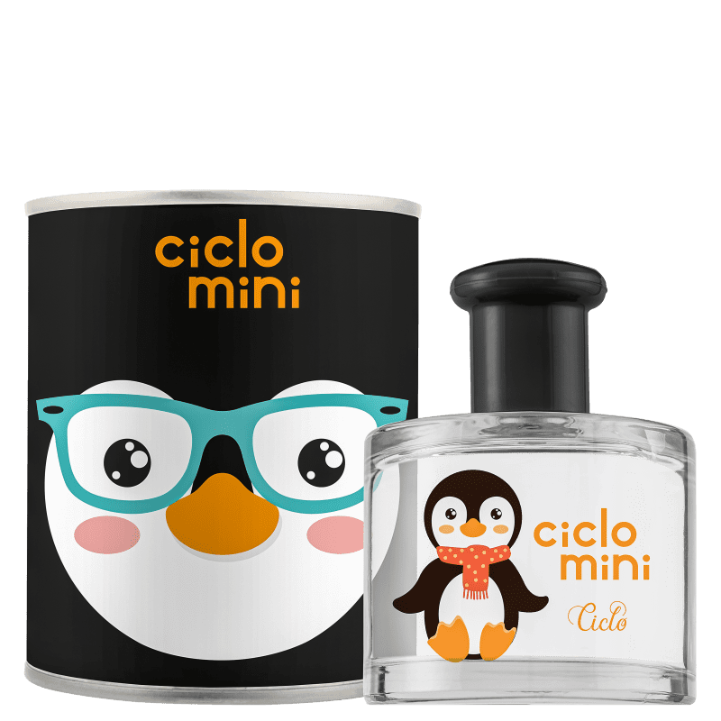 Perfume Pingucho Ciclo Mini Ciclo Cosméticos InfantilDeo Colônia 100ml