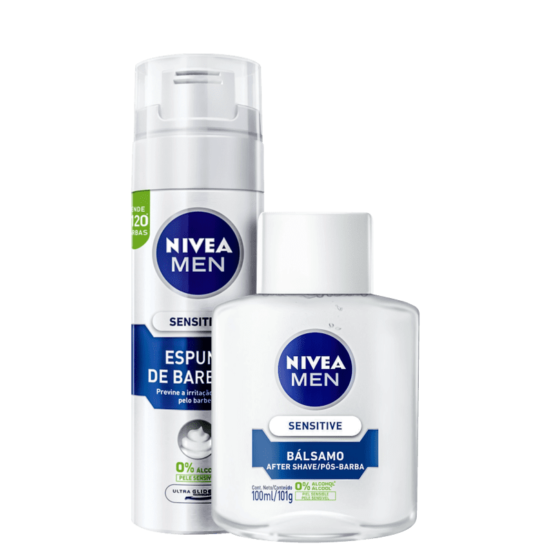 Kit NIVEA MEN Sensitive (2 Produtos)