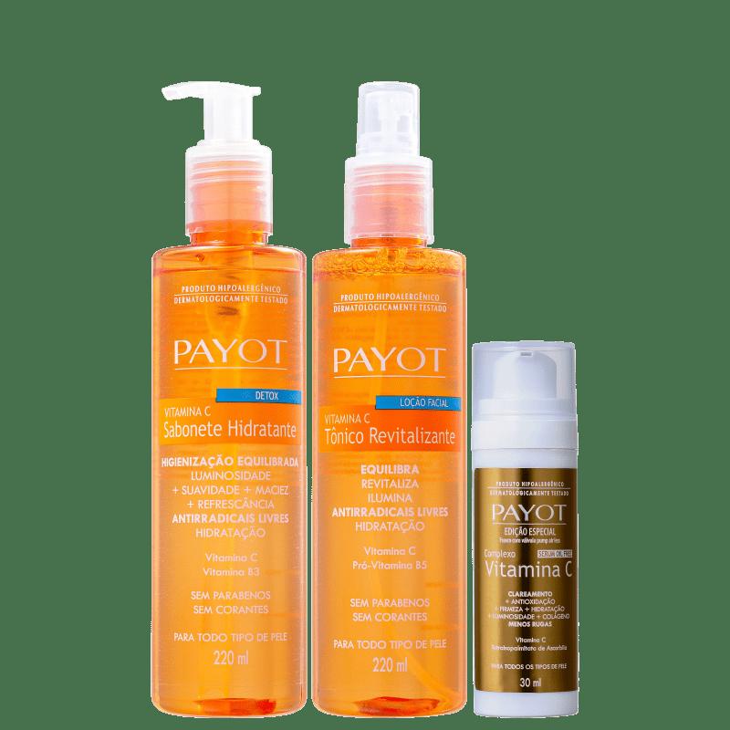 Kit Payot Vitamina C Trio (3 Produtos)