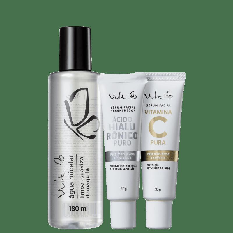 Kit Vult Complete skincare (3 Produtos)