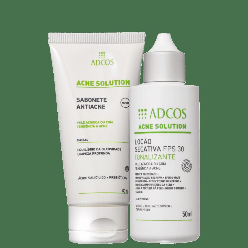 Kit Adcos Acne Solution Tonalizante (2 Produtos)