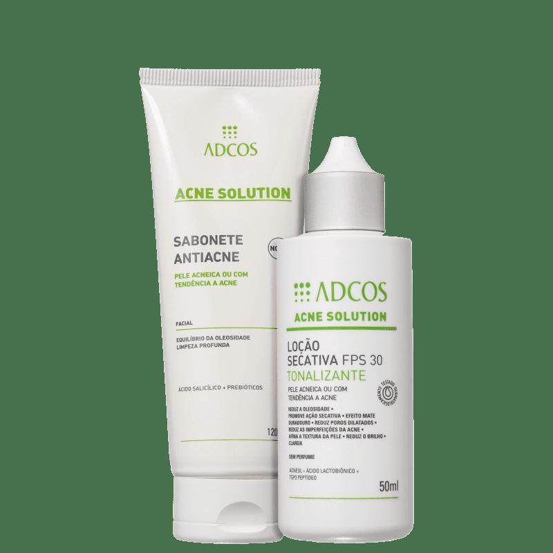 Kit Adcos Acne Solution Tonalizante Plus (2 Produtos)