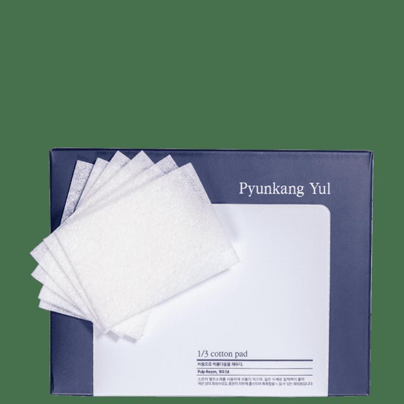 Pyunkang Yul 1/3 Cotton Pad - Lenço de Limpeza (160 Unidades)
