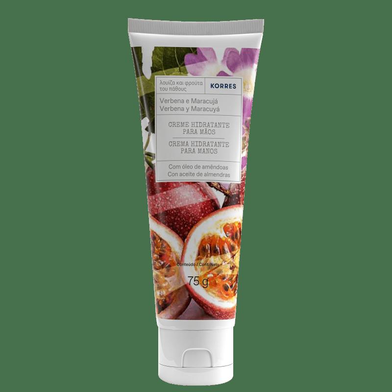 Korres Verbena e Maracujá Creme Desodorante Hidratante para Mãos – 75g