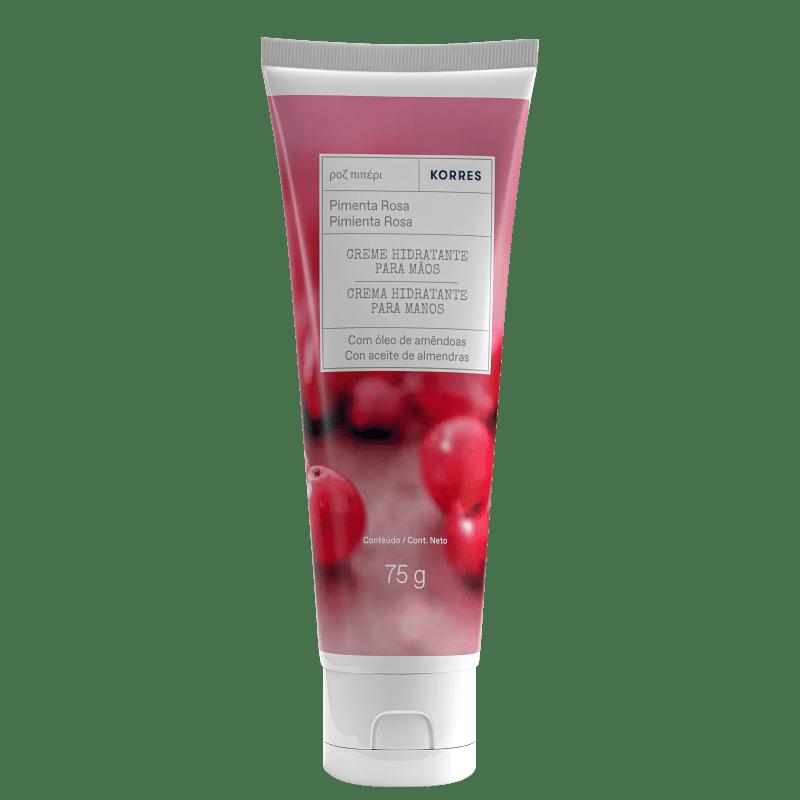 Korres Pimenta Rosa Creme Desodorante Hidratante para Mãos – 75g