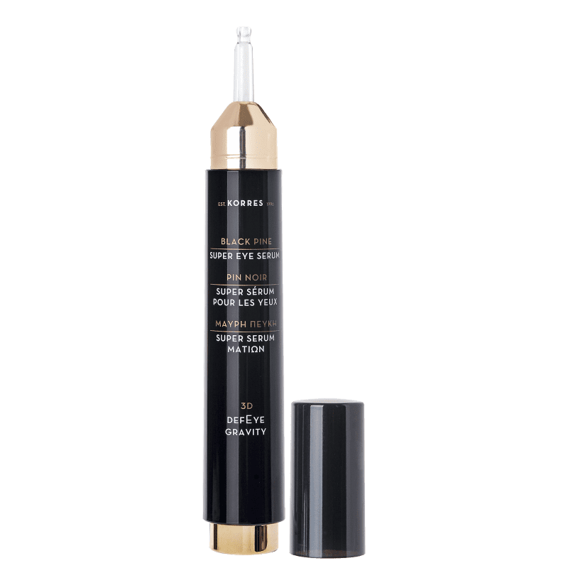Korres Black Pine 3D Super Sérum para Olhos - Firmeza + Preenchimento – 15ml